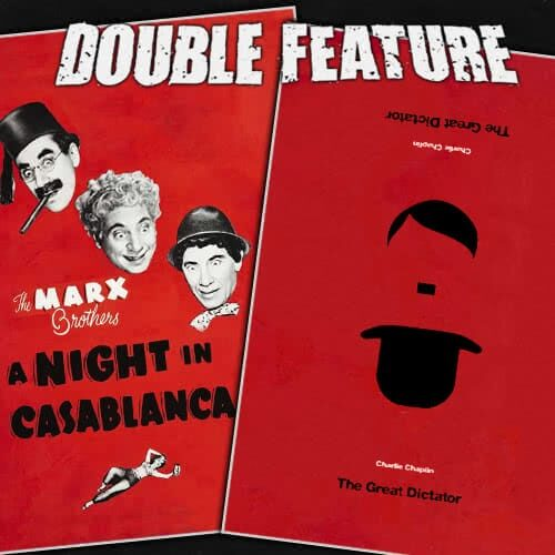 A Night in Casablanca + The Great Dictator