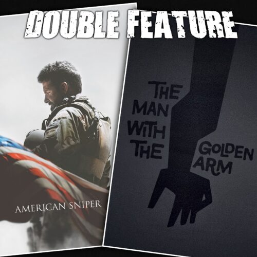 American Sniper + The Man with the Golden Arm