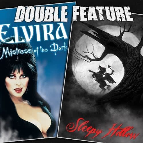 Elvira: Mistress of the Dark + Sleepy Hollow