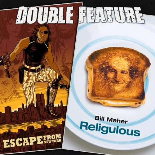 Escape from NY + Religulous
