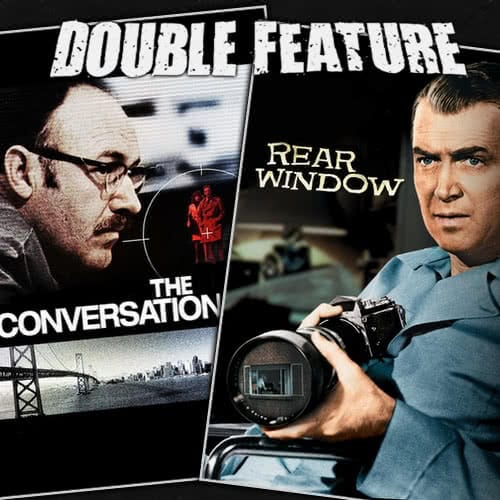 The Conversation + Rear Window