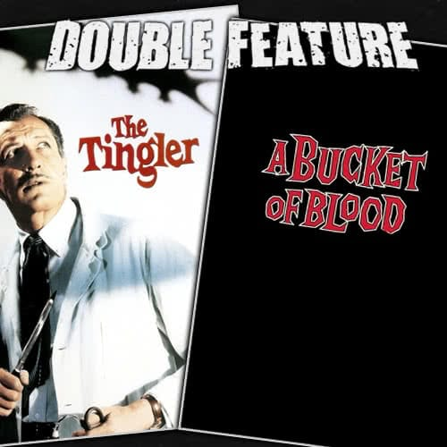 The Tingler + Bucket of Blood