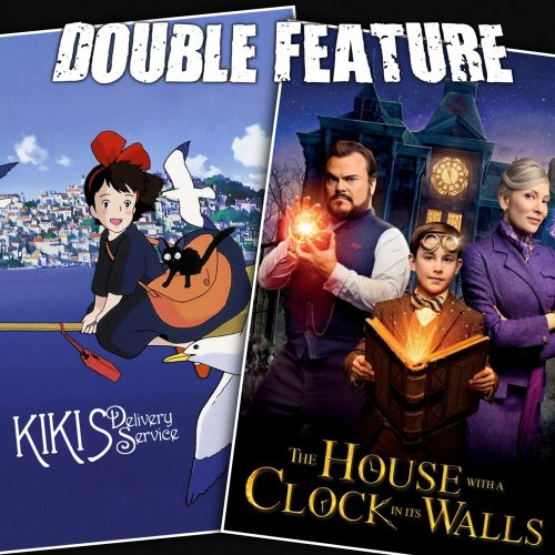 Kiki's Delivery Service + The House with a Clock in Its Walls