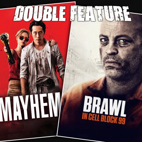 Mayhem + Brawl in Cell Block 99