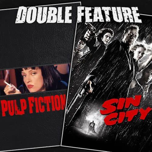 Pulp Fiction + Sin City