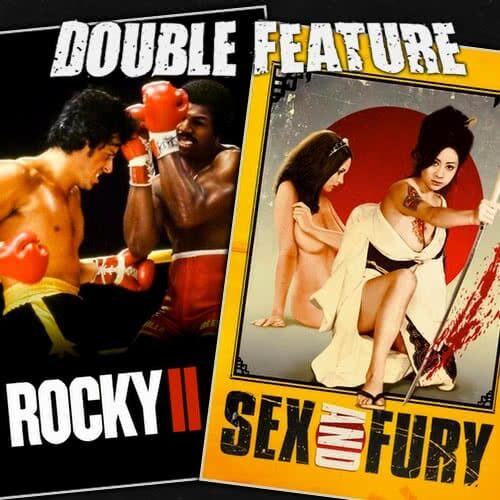 Rocky 2 + Sex and Fury