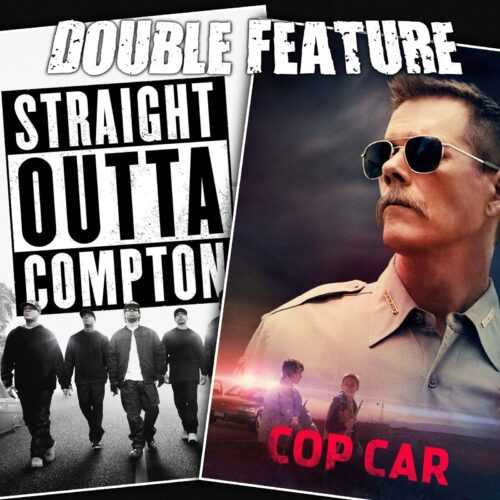 Straight Outta Compton + Cop Car