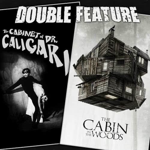 The Cabinet of Dr. Caligari + The Cabin in the Woods