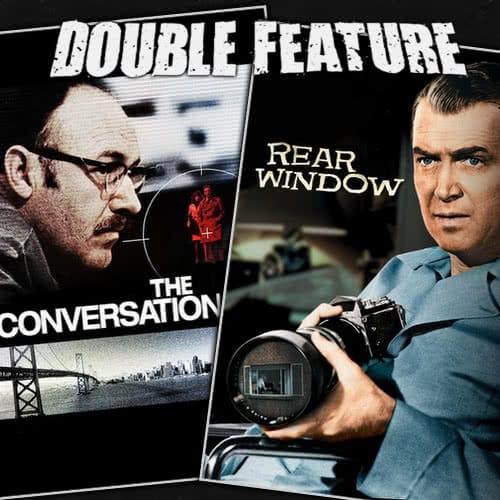 The Conversation + Rear Window