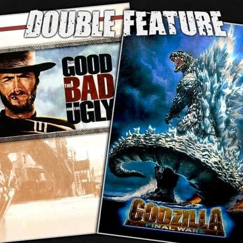 The Good, the Bad and the Ugly + Godzilla: Final Wars
