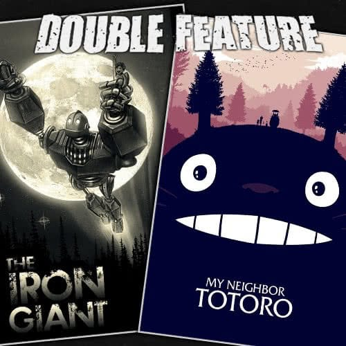 The Iron Giant + My Neighbor Totoro
