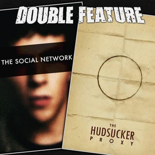 The Social Network + The Hudsucker Proxy