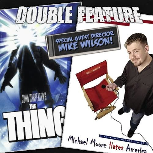 The Thing + Michael Moore Hates America