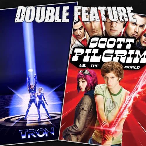 Tron + Scott Pilgrim