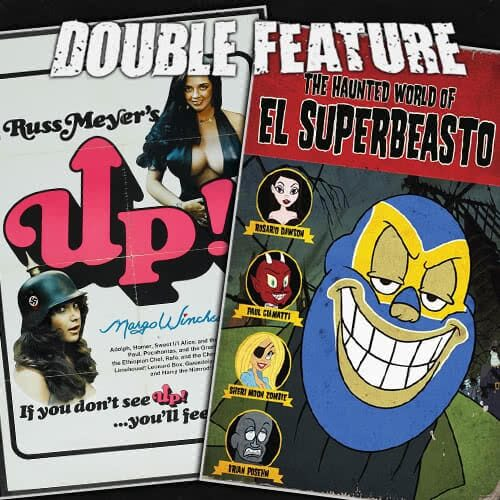 Up! + The Haunted World of El Superbeasto