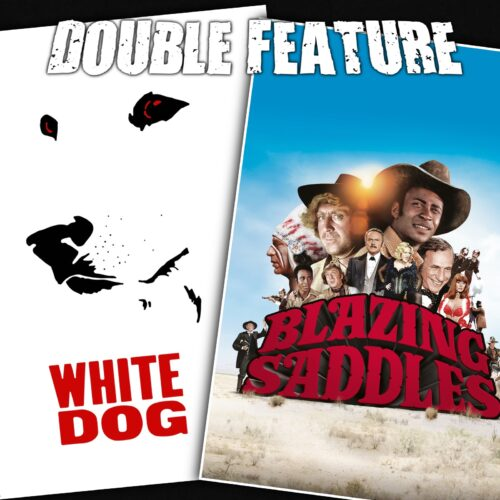 White Dog + Blazing Saddles